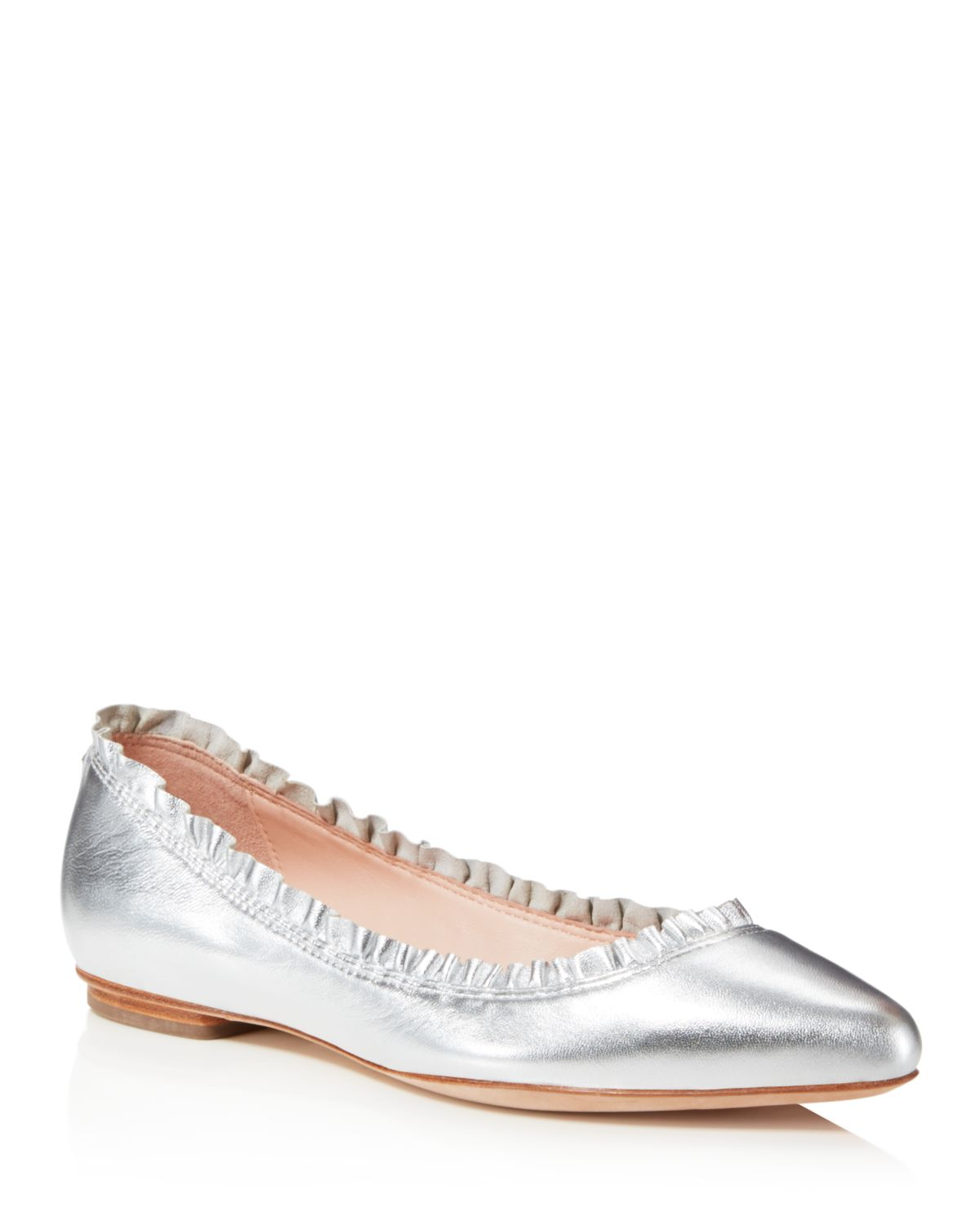 Kate Spade New York Women's Nicole Leather Flats