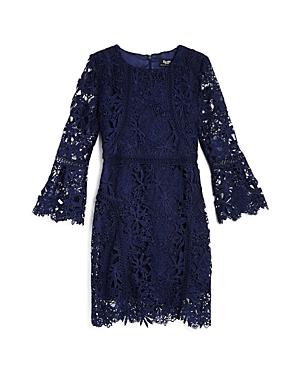 Bardot Junior Girls' Bell-Sleeve Lace Dress - Big Kid
