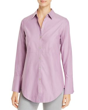 Foxcroft Patrice Button Down Top