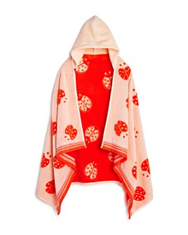 Caro Home - Lady Bug Kids Hooded Towel