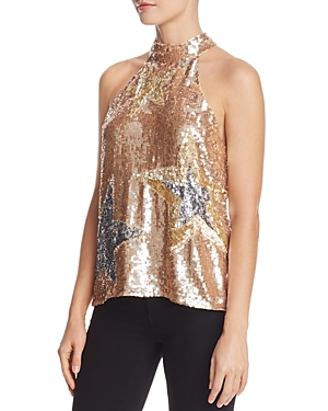 Parker Vika Sequin Star Top