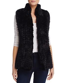 AQUA - Faux Fur Vest - 100% Exclusive