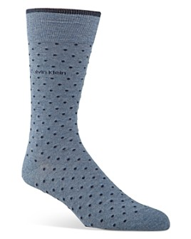 Calvin Klein - Giza Pin Dot Socks