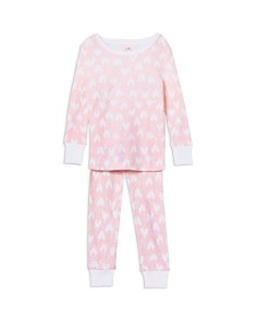Aden and Anais Girls' Heart Pajama Set - Baby - Bloomingdale's_0