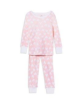 Aden and Anais - Girls' Heart Pajama Set - Baby