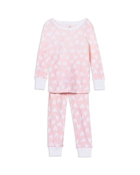 Aden and Anais - Girls' Heart Pajama Set - Baby
