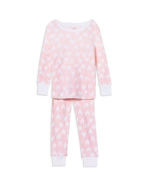 Aden and Anais Girls' Heart Pajama Set - Baby