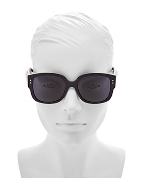 Dior - Women's Lady Studs Embellished Square Sunglasses, 54mm