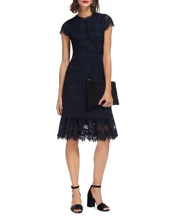 $Whistles Niki Lace Dress - Bloomingdale's