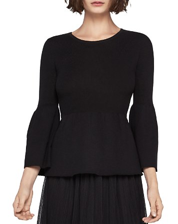 $BCBGeneration Bell Sleeve Ribbed Sweater - Bloomingdale's