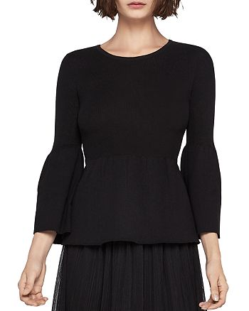 BCBGeneration - Bell Sleeve Ribbed Sweater