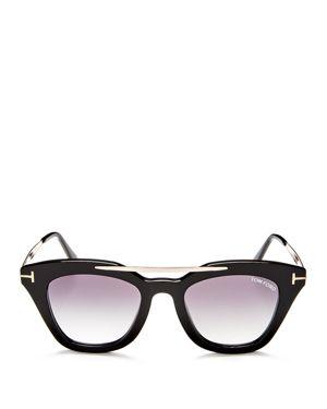 Tom Ford Anna Square Sunglasses, 49mm