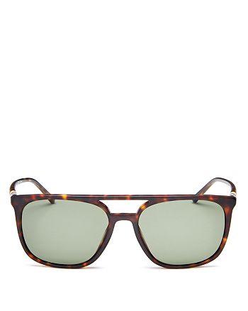 6c9cc9ee4e Burberry - Men s Polarized Brow Bar Square Sunglasses