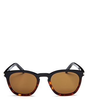 Saint Laurent Square Sunglasses, 51mm