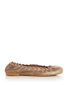 See by Chloé - Women's Nubuck Leather Ballet Flats