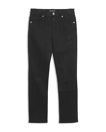Sovereign Code - Boys' Black Distressed Straight-Leg Jeans - Big Kid