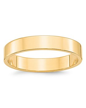 Bloomingdale's - Men's 4mm Lightweight Flat Band Ring in 14K Yellow Gold - 100% Exclusive