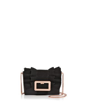 NERINEE FRILL BUCKLE CLUTCH