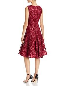 Carmen Marc Valvo - Sequin Soutache Dress