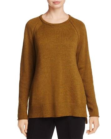 $Eileen Fisher Raglan Merino Wool Sweater - 100% Exclusive - Bloomingdale's