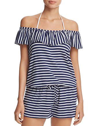 0891537be81 Splendid Stripe Covers Romper Swim Cover-Up   Bloomingdale's