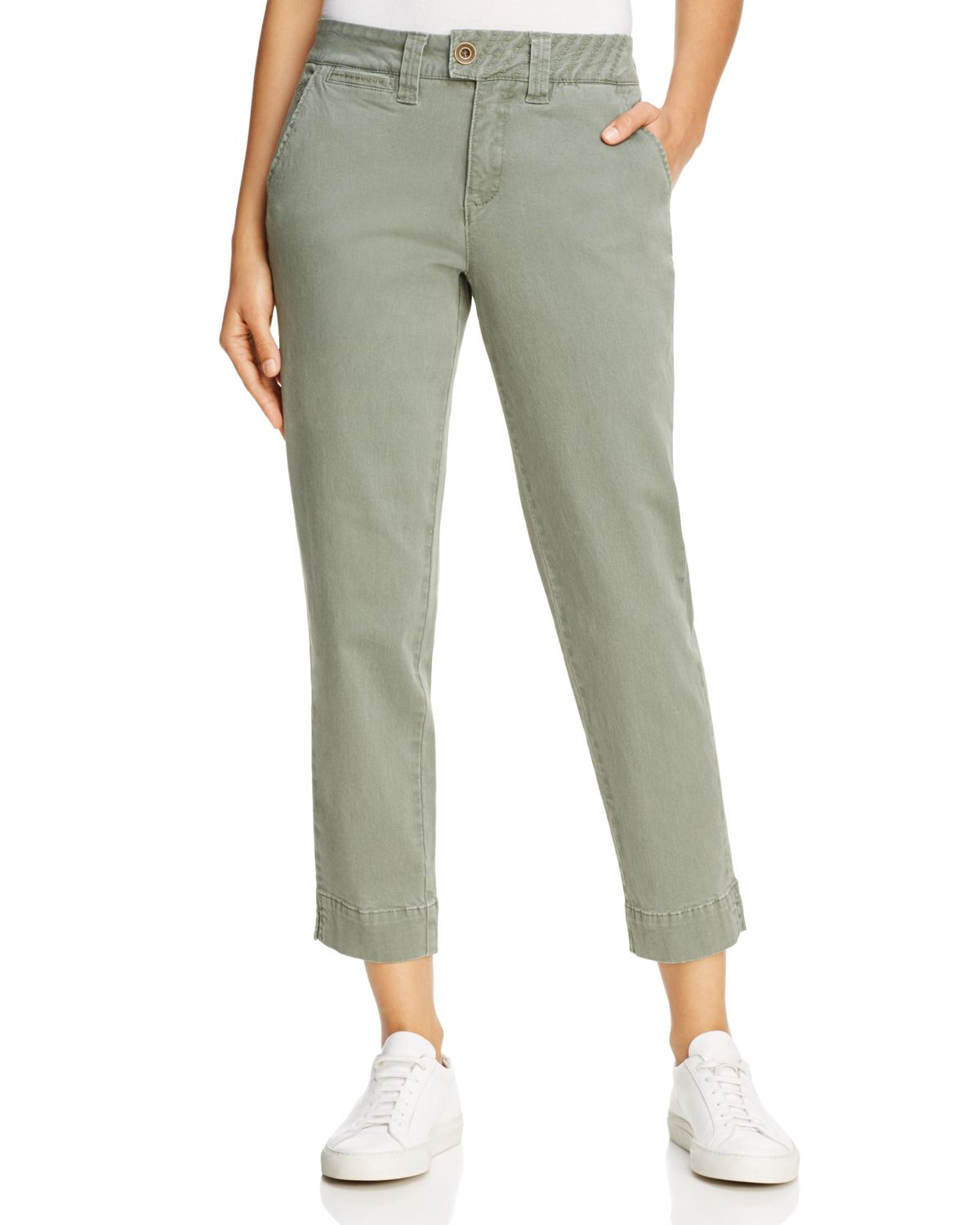 Creston Cropped Ankle Pants by Jag Jeans