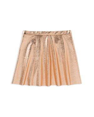 kate spade new york Girls' Metallic Skater Skirt - Little Kid thumbnail