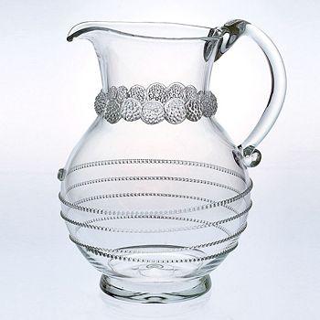 Juliska - Juliska Amalia Round Glass Pitcher