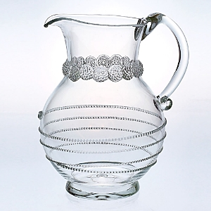 Juliska Amalia Round Glass Pitcher