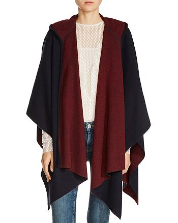 Maje - Everest Reversible Poncho