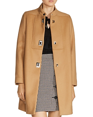 Maje Godiva Wool-Blend Coat