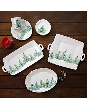 VIETRI - Lastra Holiday Canape Plate