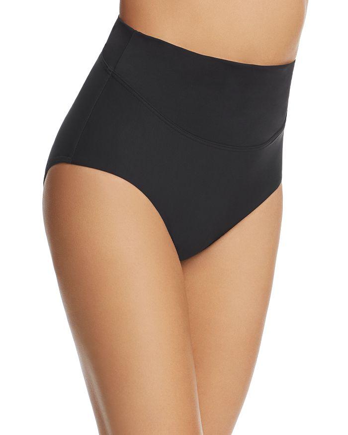 Amoressa By Miraclesuit Amoressa Martini High-waist Tankini Bottom In Black