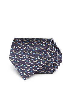 Salvatore Ferragamo Dog Bone Classic Tie - Bloomingdale's_0