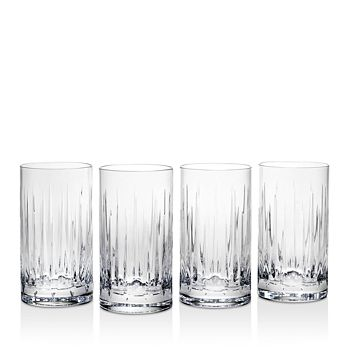 Reed & Barton - Soho Highball Glasses, Set of 4