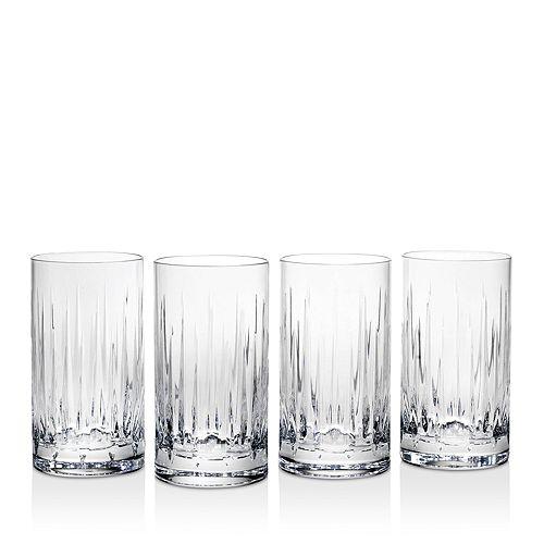 Reed & Barton - Soho Highball Glasses, Set of 4