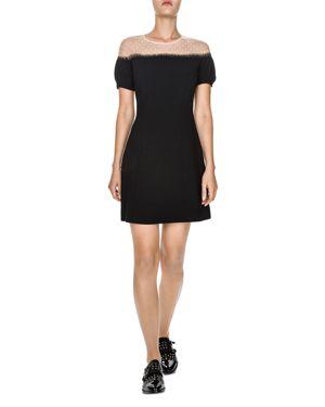 The Kooples Romantic Mesh-Yoke Dress