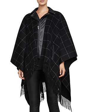 Bcbgmaxazria Justine Layered-Look Cape