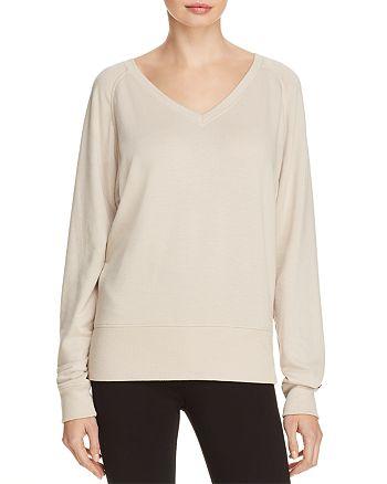 Donna Karan - V-Neck Sweatshirt