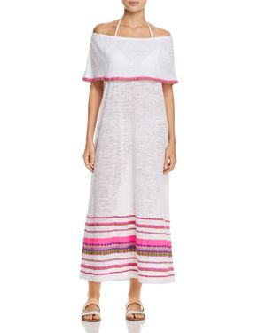 Pitusa Peruvian Maxi Dress Swim Cover-Up
