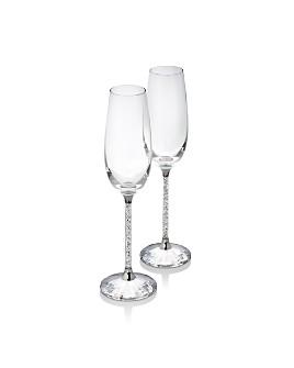Swarovski - Crystalline Champagne Flutes, Set of 2