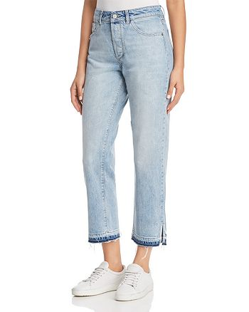 DL1961 - Patti High-Rise Cropped Straight Jeans in Deluxe