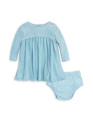 Splendid Girls' Velour & Mesh Dress with Bloomers - Baby