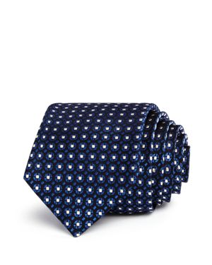 The Men's Store at Bloomingdale's Geometric Circles Neat Classic Tie - 100% Exclusive thumbnail