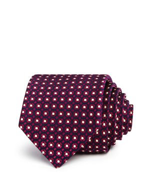 The Men's Store at Bloomingdale's Geometric Circles Neat Classic Tie - 100% Exclusive