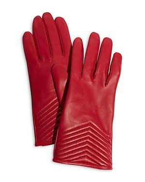 Karen Millen Quilted Leather Gloves