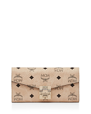 Mcm Two-Fold Large Chain Wallet