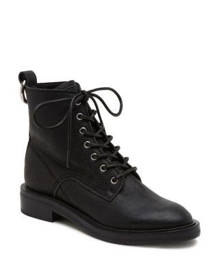$Dolce Vita Women's Bardot Leather Combat Booties - Bloomingdale's