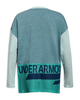 Under Armour - Girls' Long-Sleeve Tee with Back Mesh Panel - Big Kid