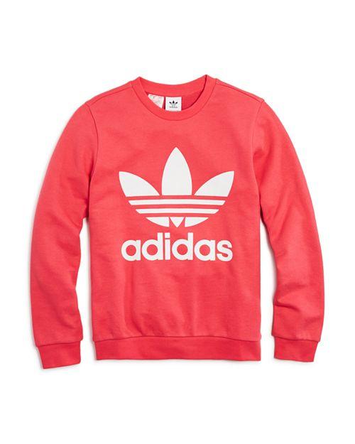 Adidas - Girls' Logo Sweatshirt - Big Kid